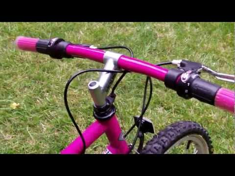 PACIFIC WILDFIRE 18 SPEED GIRLS BIKE,24 INCH TIRES