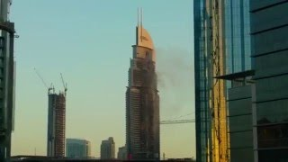 The Address Dubai fire impact