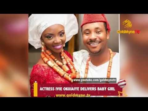 ACTRESS, IVIE OKUJAIYE DELIVERS BABY GIRL