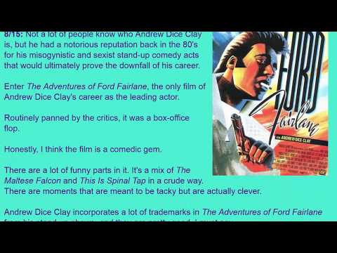 Movie Review: The Adventures of Ford Fairlane (1990) [HD]