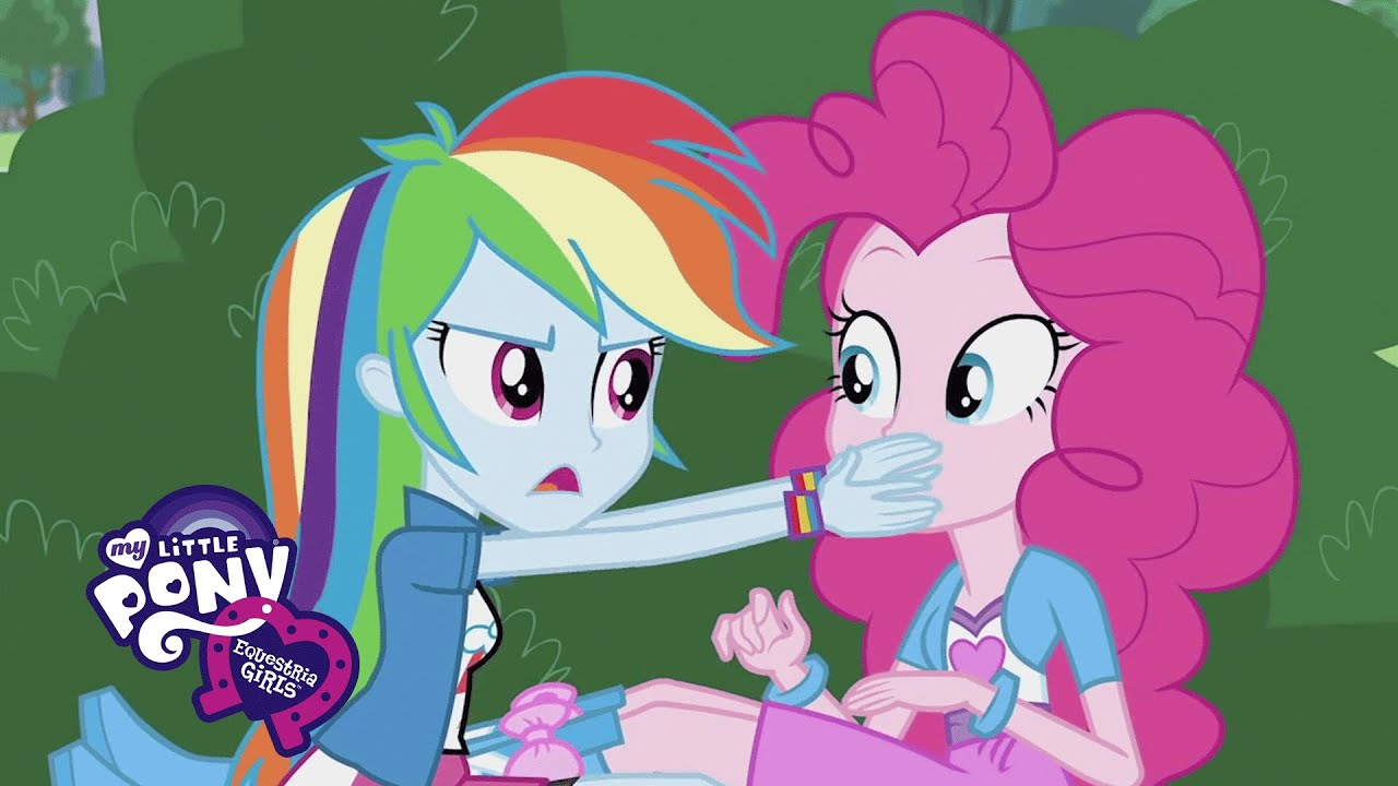 MLP Equestria Girls Friendship Games Pinkie Spy
