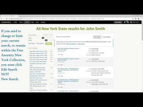 How to Use Ancestry com New York | New York State Archives
