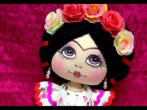 Promo kit lolita frida manualilolis video 172 youtube for Cuartos decorados de frida kahlo
