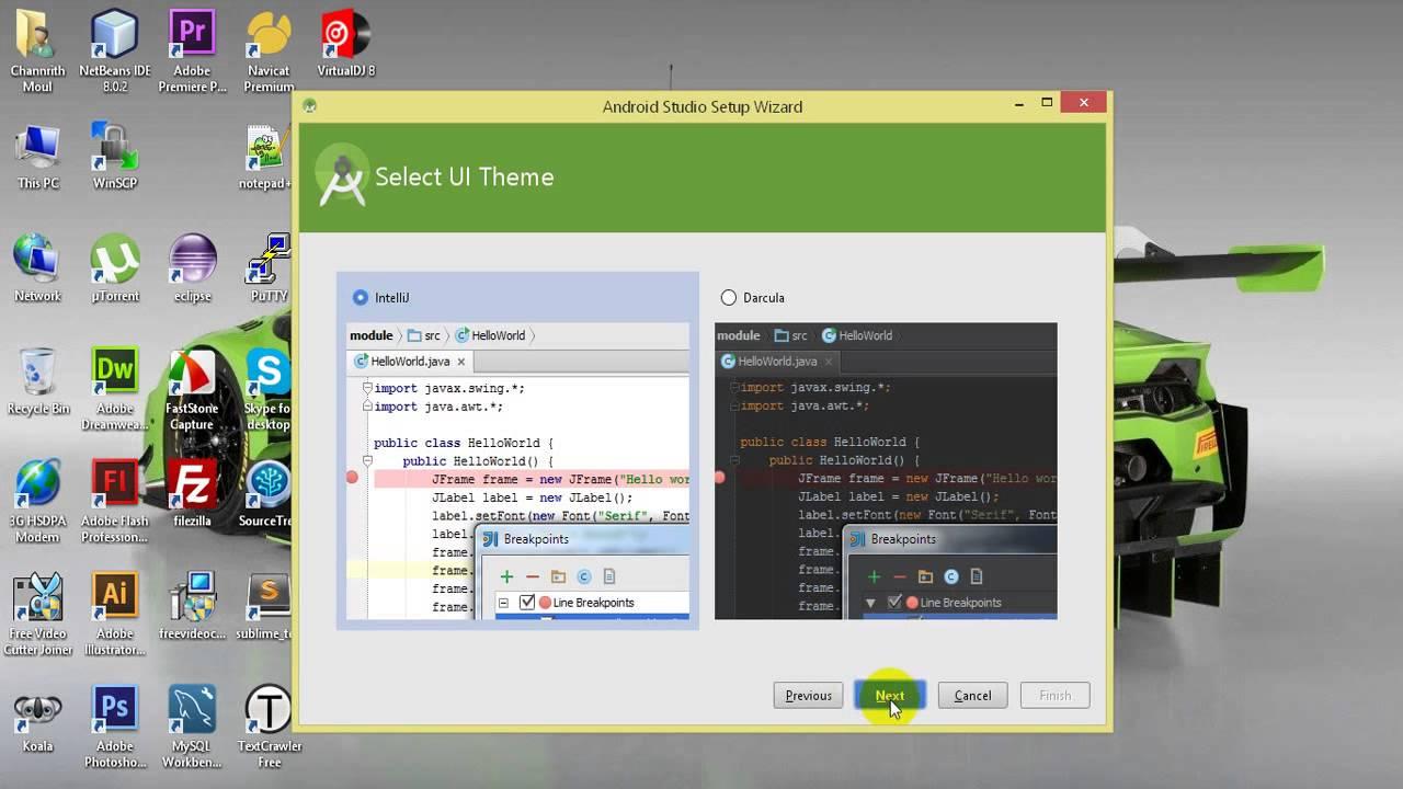 Install android studio on windows, No JVM Installation Found solution