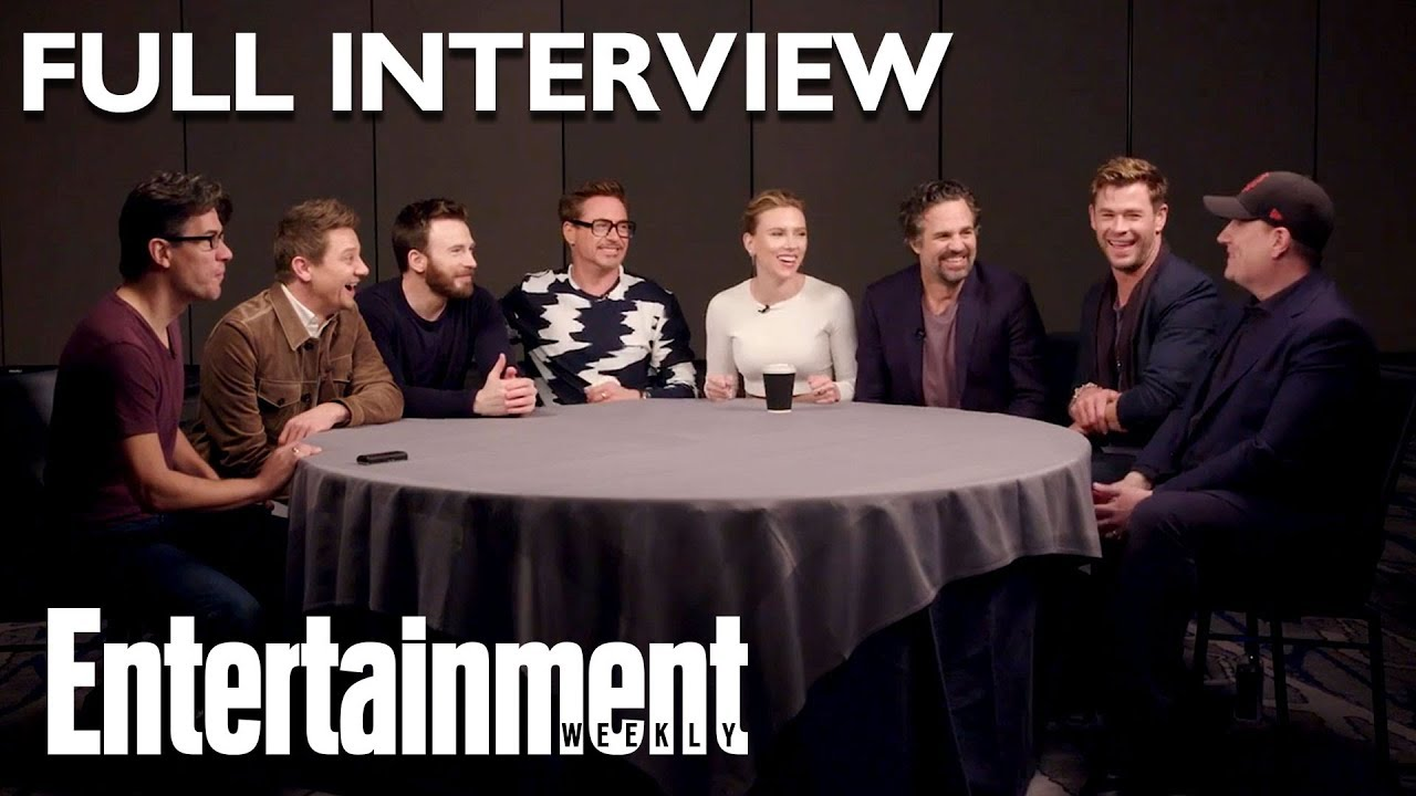 'Avengers: Endgame' Cast Full Roundtable Interview On Stan Lee & More | Entertainment