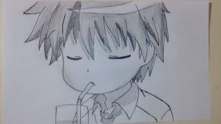 Kaichou wa Maid-sama - Takumi Usui (Time Laps Drawing)