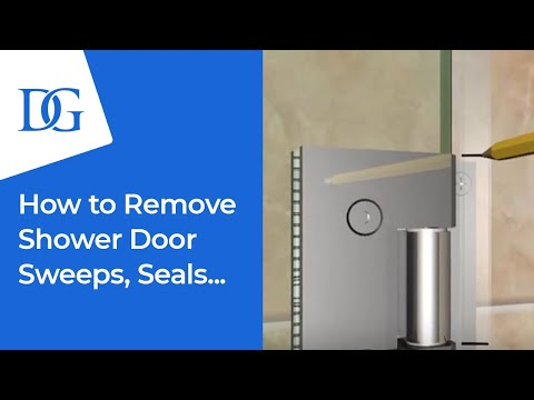 How to Replace Your Frameless Shower Door Sweeps and Jambs | Dulles Glass & Mirror
