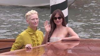 Dakota Johnson and Tilda Swinton in Venice for the Film Festival 2018