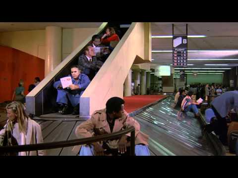 Self Service Baggage Claim - Airplane! scene