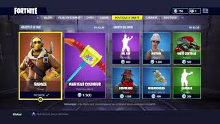 RLS Glitcheur - Fortnite Battle Royale - Shop du 14 juin 2018