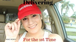 Delivering with Grubhub for a week