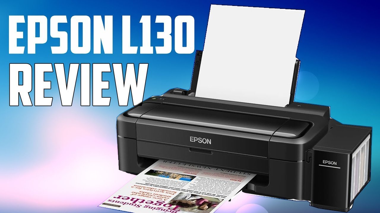 EPSON PRINTER L130 WINDOWS VISTA DRIVER