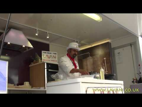 Lavani Cookery  Show by Collin D Pereira at The Dartington Food Fair 2014 - Day Two