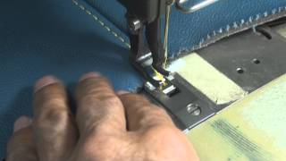 LEATHER UPHOLSTERY- French-Seams Tips