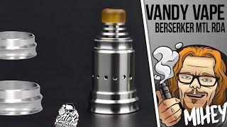 видео Vandy Vape Berserker MTL RDA BF Black
