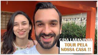 """Parte 1 - Tour pela nossa Casa """"nova"""" - Pré Reforma - Casa Laranjinha"""