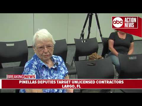 Thumbnail: 90-year-old victim of unlicensed contractor speaks out after contractor arrested