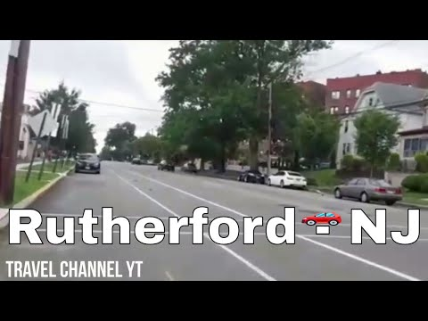 Walking in Rutherford, NJ - Park Ave, Glen Rd, and Orient Way.
