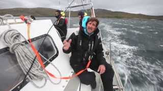 Skip Novak Storm Sailing Part 3: Using storm sails