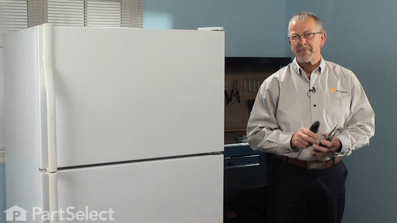 Refrigerator Repair Replacing the Icemaker Whirlpool Part 4317943  YouTube