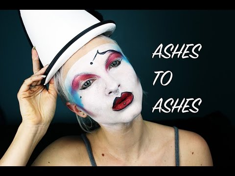 For David Bowie - Ashes to Ashes make up