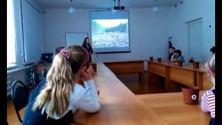 Эко-урок, школа, младшие классы, Серафимовичский район