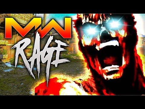 Modern Warfare RAGE Reaction Gameplay (COD MW Funny Moments)