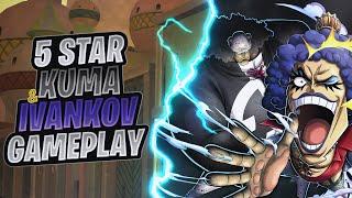 5★ Kuma & Ivankov Gameplay   One Piece Bounty Rush