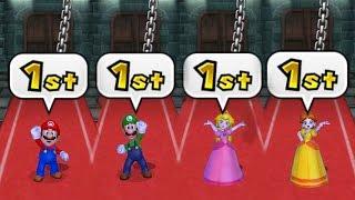 Mario Party 9 - All Skill Minigames (Master CPU)