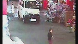 SHOCKING CCTV: No one helps as Chinese toddler hit by two vans
