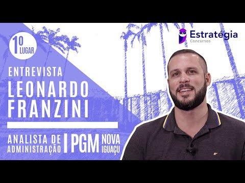 LEONARDO FRANZINI | APROVADO | 1ºLUGAR | PGM NOVA IGUAÇU | ANALISTA