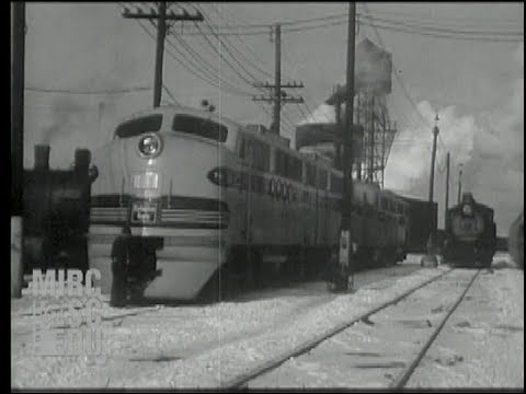 The Burlington's First EMD FT Diesels, January 1944