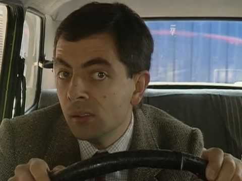 Car Park Chaos Funnny Clip Mr Bean Official Youtube