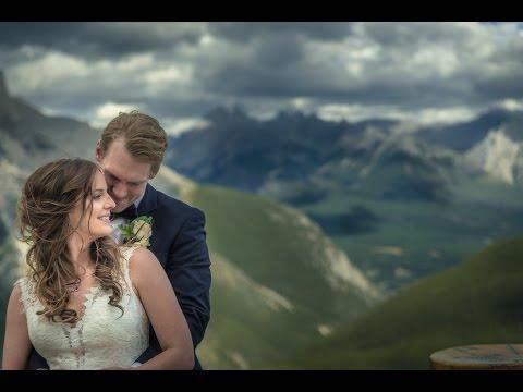 Tunnel Mountain Wedding Videography in Banff, Alberta