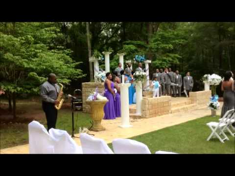 """""""All of Me"""" by John Legend Live Wedding Sax Instrumental Cover by Jamal Riley"""