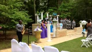 """All of Me"" by John Legend Live Wedding Sax Instrumental Cover by Jamal Riley"
