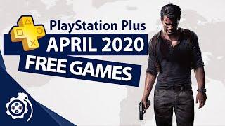 PlayStation Plus (PS+) April 2020