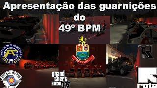 GTA IV - PMESP Guarnições do 49º BPM
