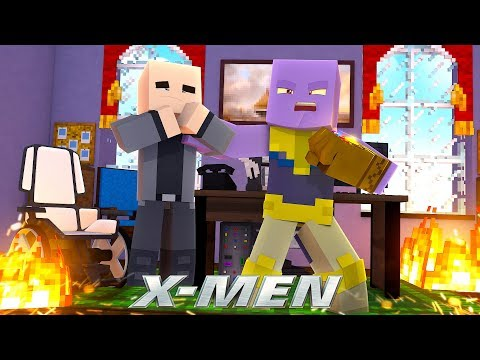 THANOS IS THE NEW X-MEN SCHOOL HEADMASTER!? - (Custom Mod Adventure)