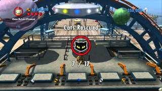 LEGO City Undercover - All 17 Cats Rescued