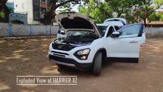 TATA HARRIER- 4K POV, Exhaust Note, Exploded View, Features & Facts