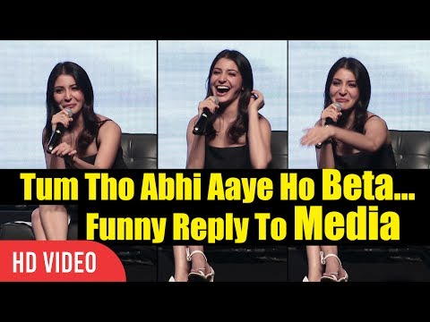 Tum Tho Abhi Aaye Ho Beta... Anushka Sharma Funny Reply To R