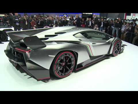 Lamborghini Veneno at the 2013 Geneva Motor Show