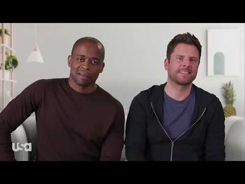 "Psych: The Movie 2 | Shawn And Gus Watch ""Suits"""