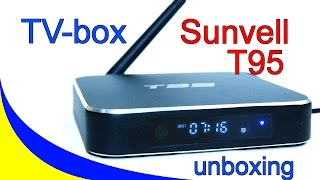 Розпакування TV-Box Sunvell T95 і LED Ламп