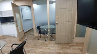 저렴한 단기사무실임대 내부 깔끔 룸4개