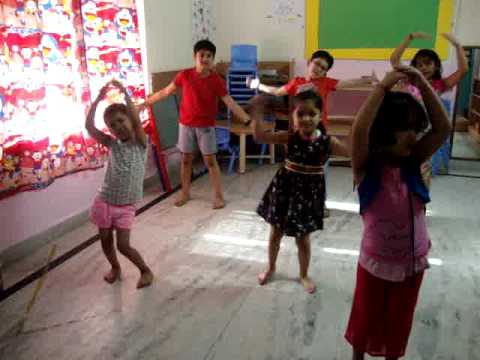 Dance Activity at Giggles Play School & Daycare,Indirapuram - YouTube