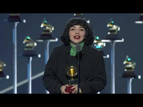 Mon Laferte Wins Best Alternative   2019 Latin GRAMMYs Acceptance Speech
