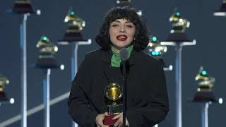Mon Laferte Wins Best Alternative Album | 2019 Latin GRAMMYs Acceptance Speech