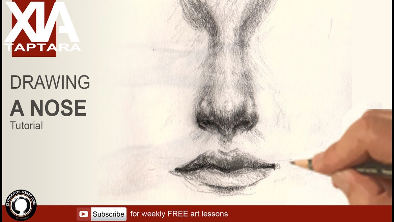 How to draw nose realistic youtube how to draw nose realistic ccuart Image collections